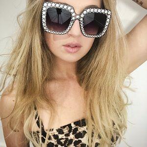 Hollywood Starlet oversized glam sunglasses